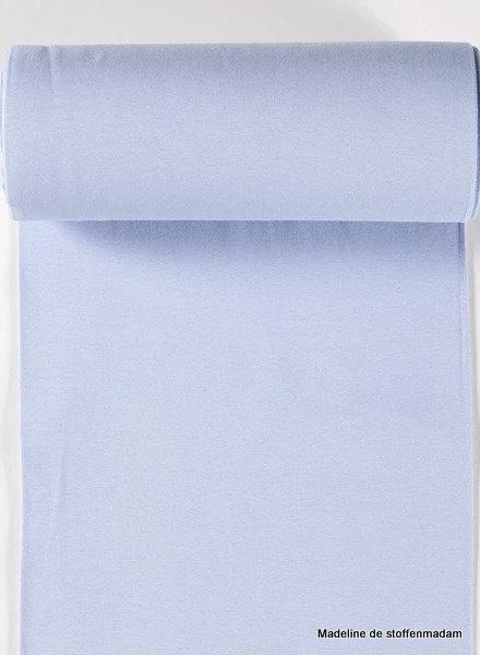 light blue - solid rib cuff