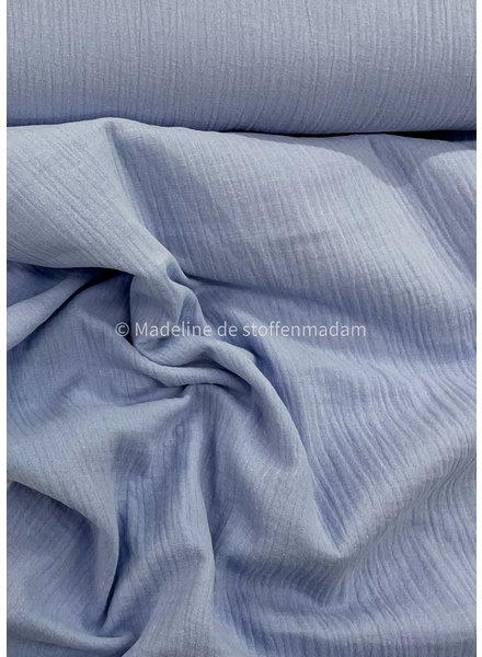 M soft lila 024 muslin fabric