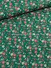 groen bloemen 024 - katoen