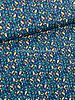 blauw oker steentjes  024 - katoen