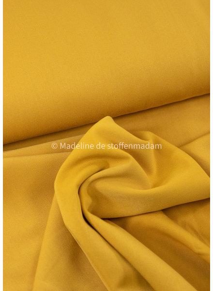 M warm geel - broekenstof