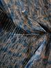 M blauwe veertjes - plisse