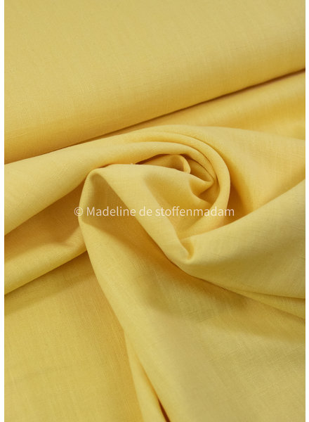 100% solid linen chartreuze yellow - 8 oz.