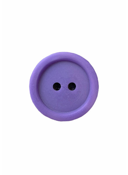 Prym purple  20 mm polyester two wholes - button