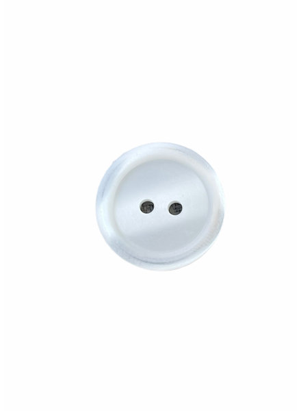 Prym white 20 mm polyester two wholes - button