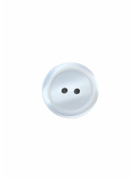 Prym wit 20mm  polyester twee gaatjes - knoop