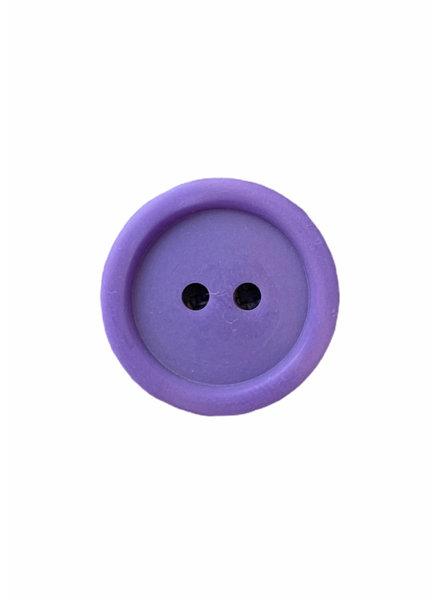 Prym paars 11mm  polyester twee gaatjes - knoop