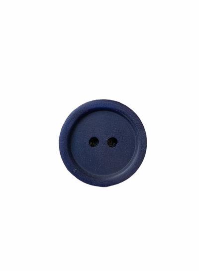 Prym navy 11mm  polyester twee gaatjes - knoop