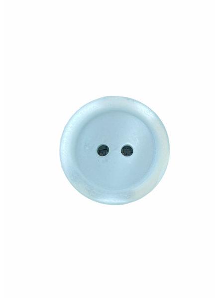 Prym mintblauw 15mm  polyester twee gaatjes - knoop