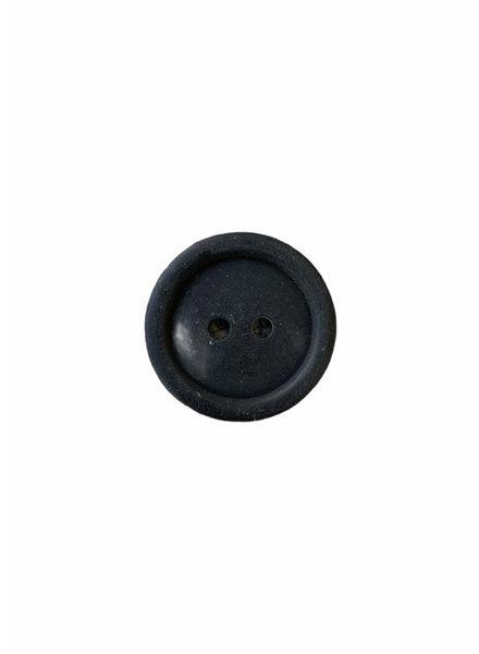 Prym zwart 15mm polyester twee gaatjes - knoop