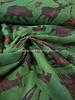 RILEY BLAKE green pinewood toss - flanel