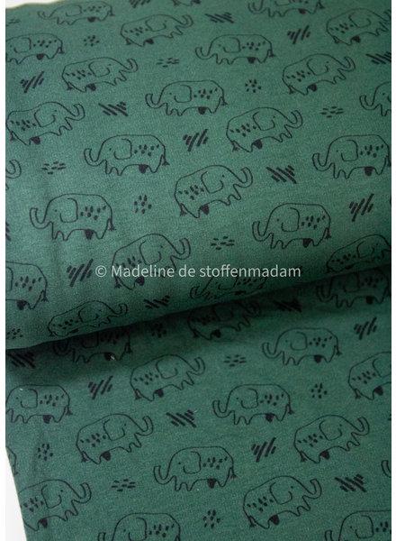 olifanten flessengroen - soft sweater