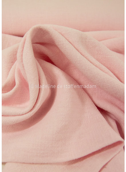 pink ramie - stonewashed 9oz