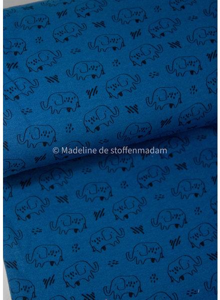 olifanten petrol - soft sweater