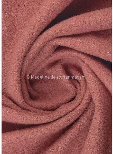 pink - boiled wool