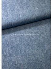 Poppy fabrics licht jeansblauw 6 - french terry
