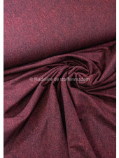 Poppy fabrics bordeaux melee  - french terry