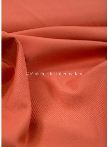 coral -organic woven bamboo  - supple fabric - non wrinkle - Noelle