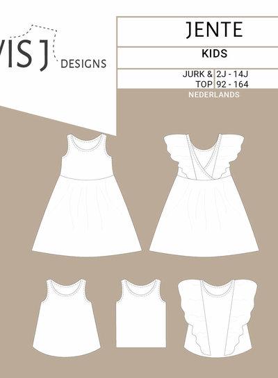 Wisj patterns Jente dress / top