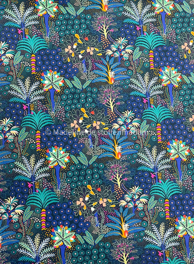 Swafing Tropical forest palmbomen - tricot