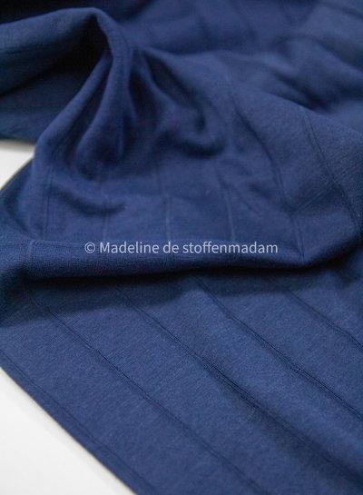 marine - double gauze tricot