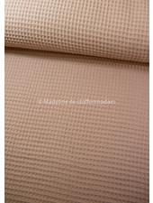 salmon - waffle cotton