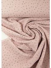 sprinkles dusty pink - muslin