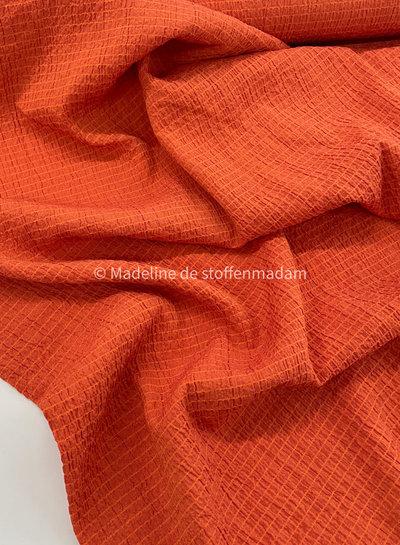 burned orange - tetra viscose