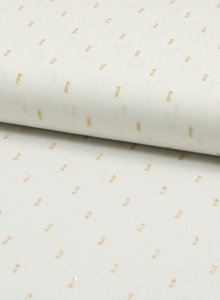cloud white rayon lurex