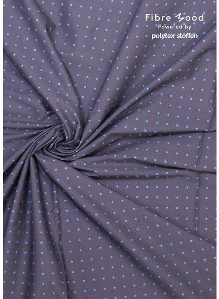 Fibremood Danna/Rupert - navy stars - stretch cotton