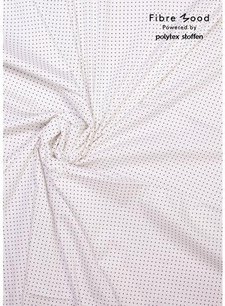 Fibremood Danna - cloud white stars - stretch cotton