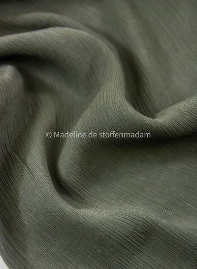 Fiona/Bloom/Aila/Danna - crincled viscose - khaki