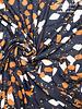 Alia / Bloom - abstract black - viscose crepe