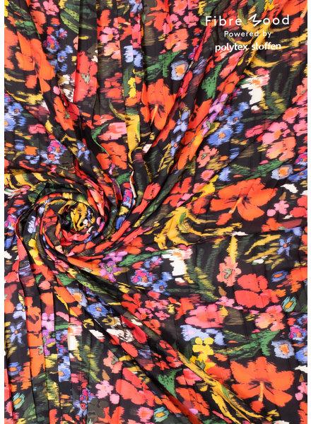 bloemen in felle kleuren - plisse - Bloom/Fiona