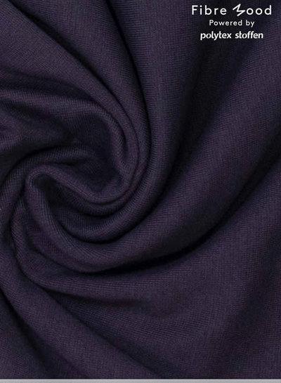 Noelle - zwart soepelvallende stof - geen kreuk