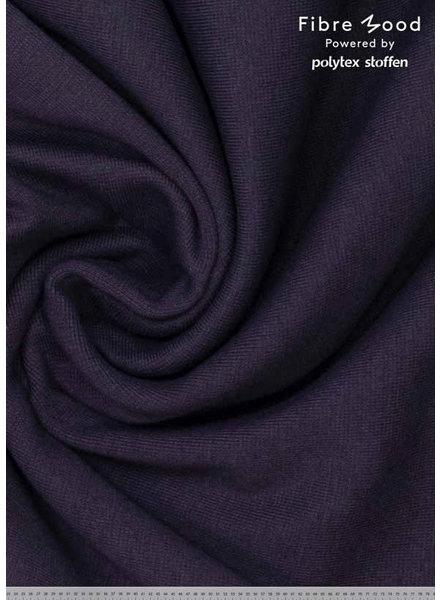 black supple fabric - non wrinkle - bamboo - Noelle