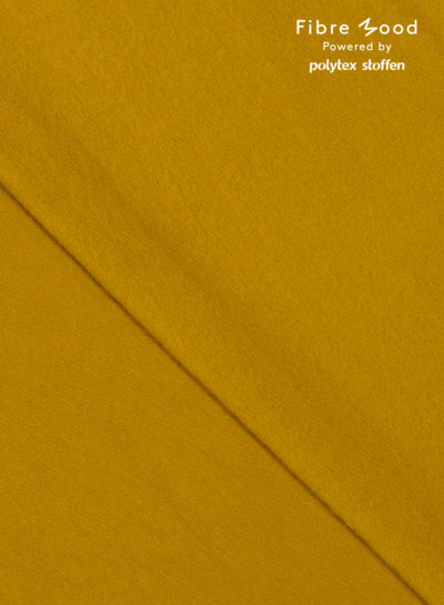 Fibremood oker boordstof - 1 meter breedte - Joy / Vera