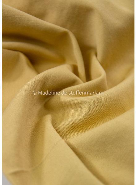 Fibremood denim gabardine - lime geel - 7.75oz - Maya / Noelle