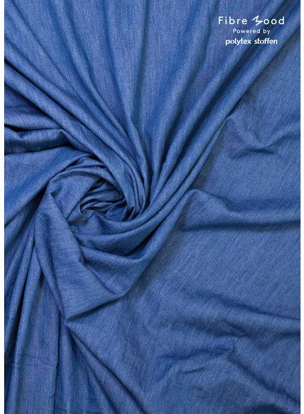 Fibremood Danna/Harmony/Rupert - mid blue - chambray organic cotton 4.5 oz - non stretch