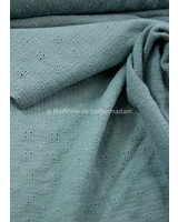 mint - soft embroidery cotton