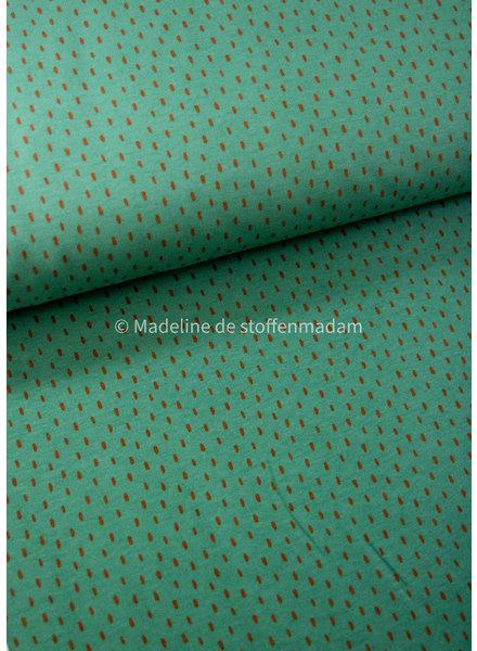 M green dots - soft sweat GOTS
