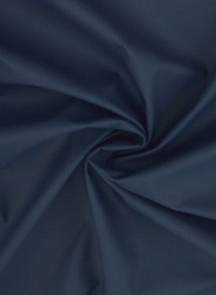 marineblauw regenjasstof -  PUL