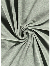 munt - mooi gemeleerd effen tricot - 7oz
