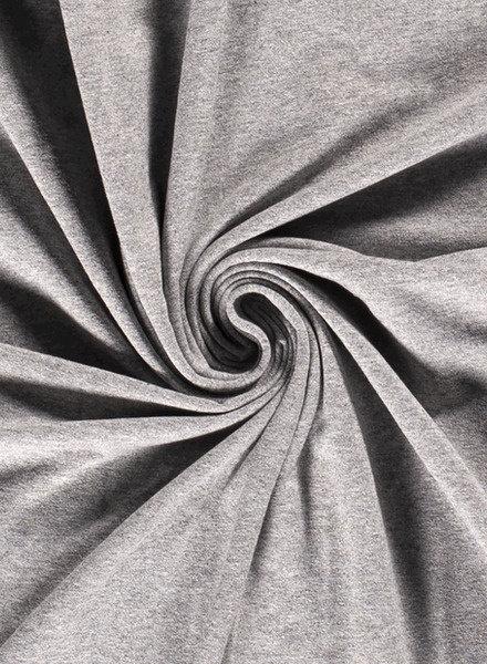 grey -  jersey - 7oz
