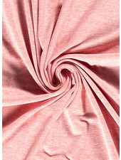 rood - mooi gemeleerd effen tricot - 7oz