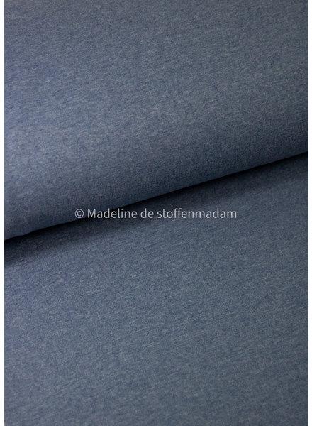 M melee blauw - extra zachte effen sweater