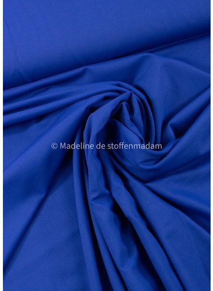 kobaltblauw - travel / lycra. kreukvrij