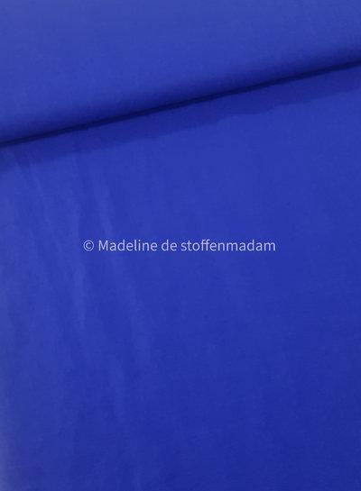 M kobalt - soepelvallend 100% linnen
