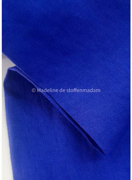 M cobalt - supple linen 100%