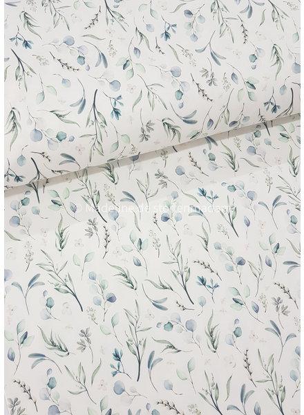 M blauw eucalyptus leaves - jersey